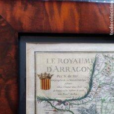 Arte: MAPA ANTIGUO REINO DE ARAGON. 1706.. Lote 165717114