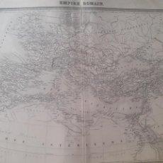 Arte: MAPA ORIGINAL S.XIX. EMPIRE ROMAIN.. Lote 168878798