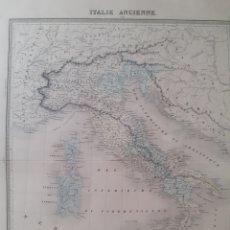 Arte: MAPA ORIGINAL S.XIX. ITALIE ANCIENNE.. Lote 168879189
