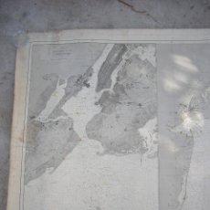 Arte: NEW YORK PORT MA, DIRECCION DE HIDROGRAFIA 1874,MAPA DEL PUERTO DE NUEVA YORK,MUY RARO,RARE. Lote 169183056