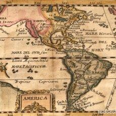 Arte: MAPA DE AMÉRICA DEL NORTE, CENTRO Y SUR, 1694. PIERRE DU VAL. Lote 170150922
