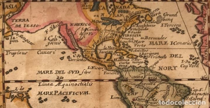 Arte: Mapa de América del norte, centro y sur, 1694. Pierre du Val - Foto 4 - 170150922