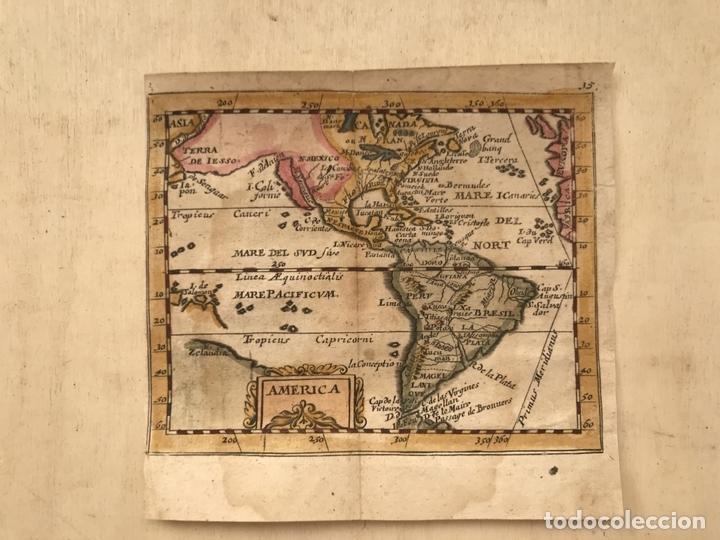 Arte: Mapa de América del norte, centro y sur, 1694. Pierre du Val - Foto 6 - 170150922