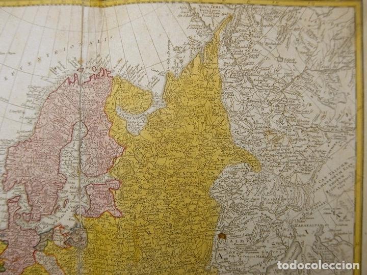 Arte: Gran mapa de Europa,1740. J. Homann/Homann Heirs - Foto 5 - 170175830