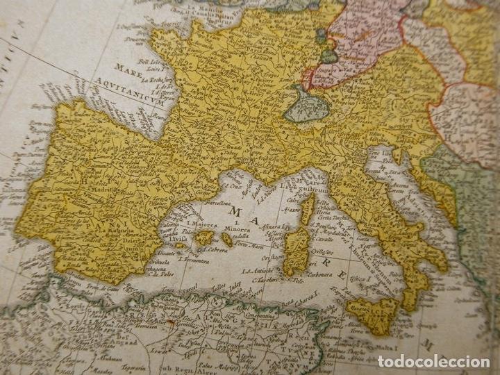 Arte: Gran mapa de Europa,1740. J. Homann/Homann Heirs - Foto 8 - 170175830