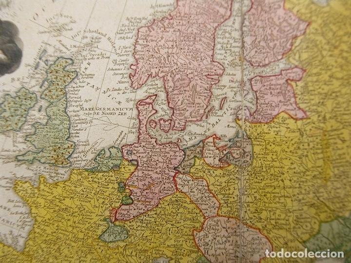 Arte: Gran mapa de Europa,1740. J. Homann/Homann Heirs - Foto 9 - 170175830