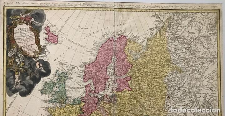Arte: Gran mapa de Europa,1740. J. Homann/Homann Heirs - Foto 12 - 170175830