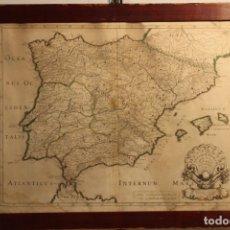 Arte: MAPA DE ESPAÑA, HISPANIA ANTIQUAE TABULAE, 1641. Lote 170215956