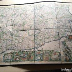 Arte: MAPA 1703 - LA PRINCIPAUTÉ DE CATALOGNE ET LE COMTÉ DE ROUSILLON FACSÍMIL - LIMITADO Y NUMERADO. Lote 171009932