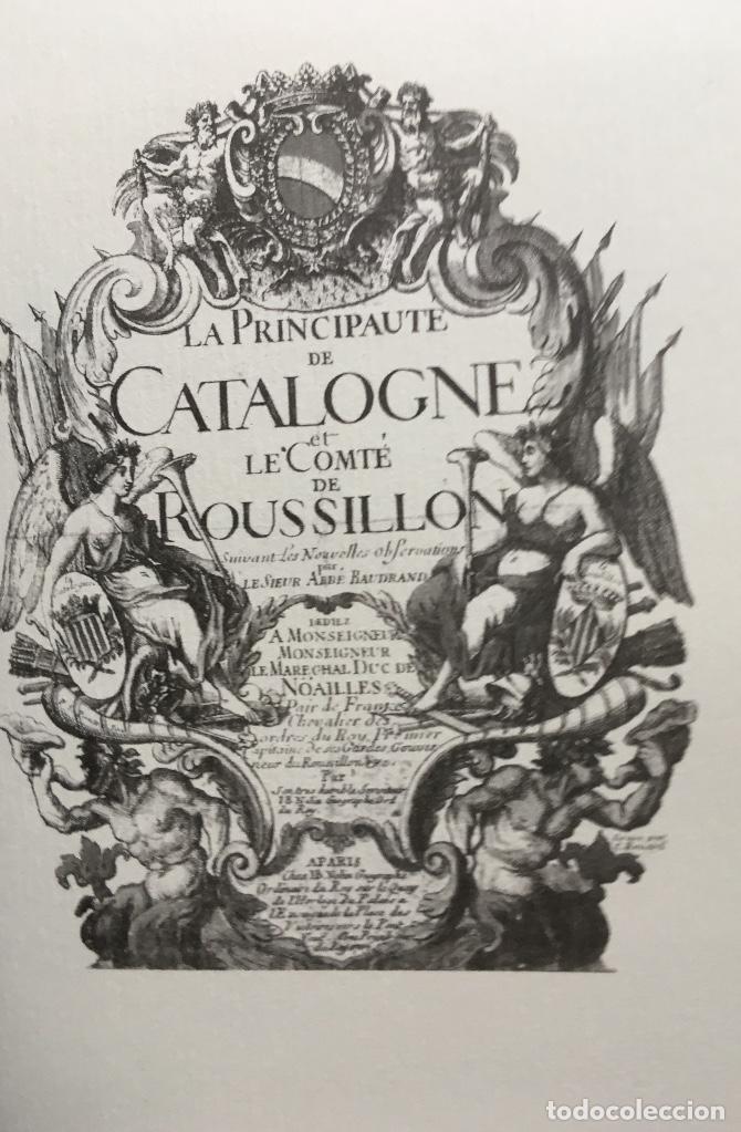 Arte: MAPA 1703 - LA PRINCIPAUTÉ DE CATALOGNE ET LE COMTÉ DE ROUSILLON Facsímil - limitado y numerado - Foto 7 - 171009932