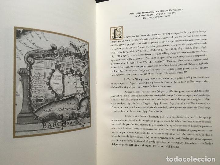 Arte: MAPA 1703 - LA PRINCIPAUTÉ DE CATALOGNE ET LE COMTÉ DE ROUSILLON Facsímil - limitado y numerado - Foto 9 - 171009932