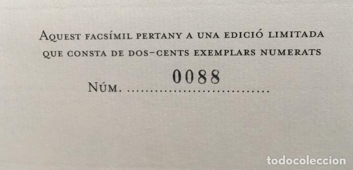 Arte: MAPA 1703 - LA PRINCIPAUTÉ DE CATALOGNE ET LE COMTÉ DE ROUSILLON Facsímil - limitado y numerado - Foto 10 - 171009932