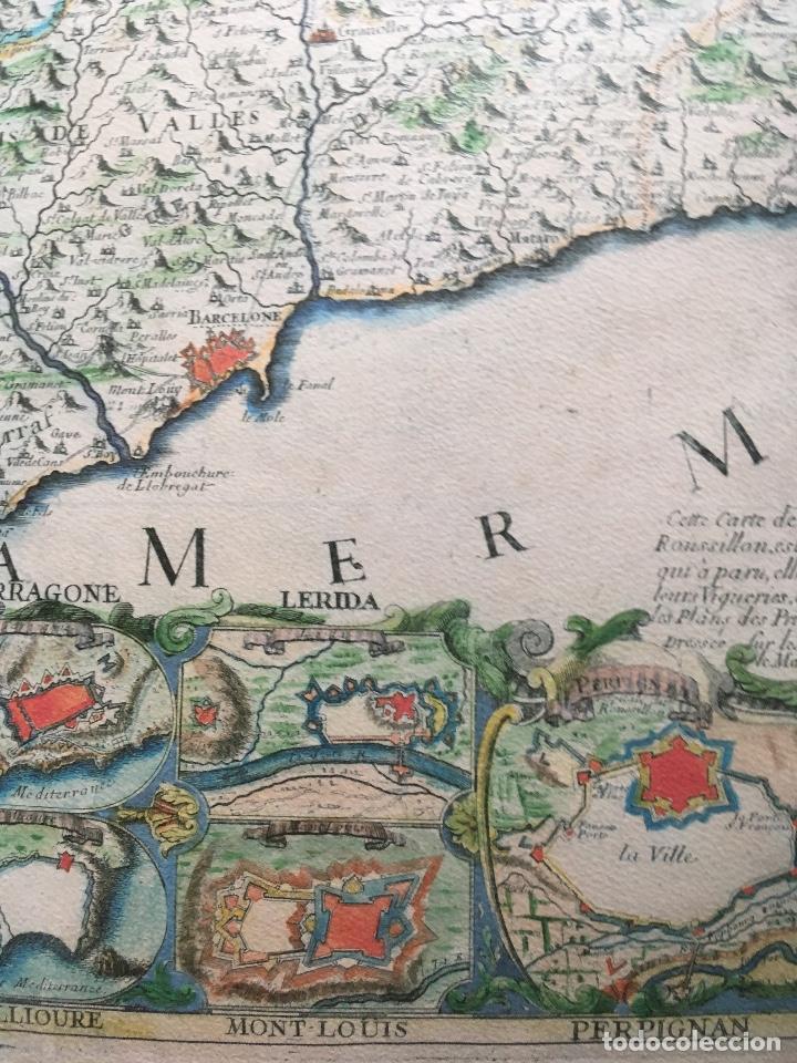 Arte: MAPA 1703 - LA PRINCIPAUTÉ DE CATALOGNE ET LE COMTÉ DE ROUSILLON Facsímil - limitado y numerado - Foto 11 - 171009932