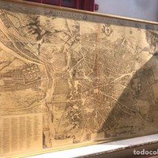 Arte: PLANO TOPOGRAFIA DE LA VILLA DE MADRID DESCRITA POR DON PEDRO TEXEIRA AÑO 1656. Lote 171010110
