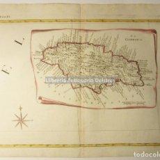 Arte: [MAPA. LA JAMAICA. 1778] ZATTA, ANTONIO. LA GIAMMAICA. FOGL. IX. . Lote 171084927