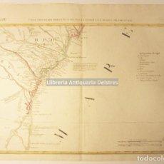 Arte: [MAPA. FLORIDA, GEORGIA, Y NORTE DE CAROLINA. 1778] ZATTA, ANTONIO. PARTE ORIENTALE DELLA FLORIDA.... Lote 171085107
