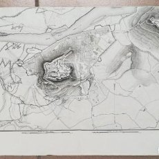 Arte: MAPA DE LLEIDA - GUERRA DEL FRANCES O DE LA INDEPENDENCIA - SUCHET - AÑO 1828. Lote 171189169