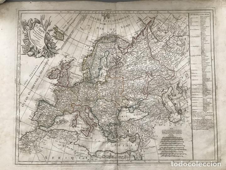 GRAN MAPA DE EUROPA, 1783. CASSINI/HAAS/CREPY (Arte - Cartografía Antigua (hasta S. XIX))