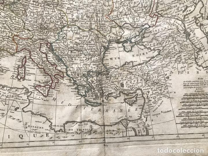 Arte: Gran mapa de Europa, 1783. Cassini/Haas/Crepy - Foto 8 - 171310687