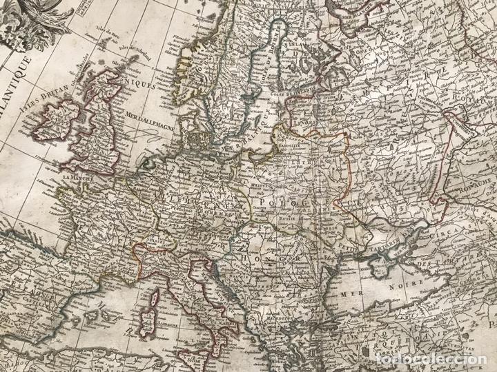 Arte: Gran mapa de Europa, 1783. Cassini/Haas/Crepy - Foto 10 - 171310687