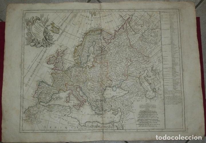 Arte: Gran mapa de Europa, 1783. Cassini/Haas/Crepy - Foto 13 - 171310687
