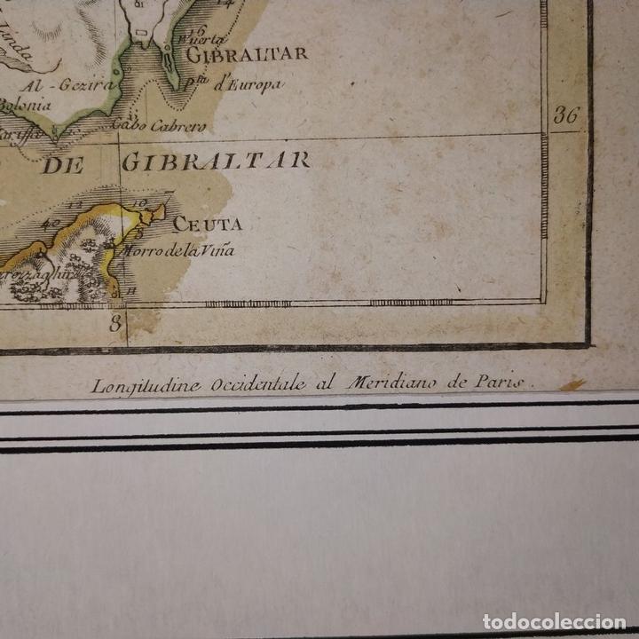 Arte: MAPA DOS REYNOS DE PORTUGAL E ALGARVE. MAPA. GRABADO. LALTRÉ. PARIS. FRANCIA. XVIII - Foto 6 - 172296525
