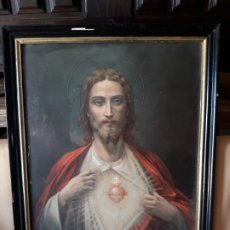 Arte: CORAZÓN DE JESUS . Lote 172761143