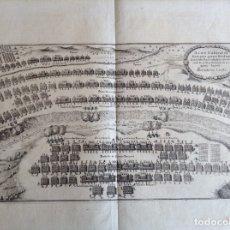 Arte: GRABADO ORIGINAL ANTIGUO S XVII LLEIDA LÉRIDA. Lote 175205990
