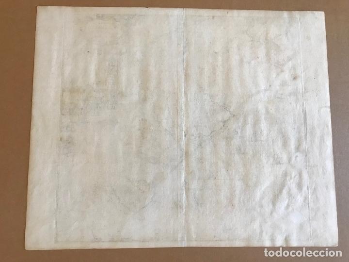 Arte: Gran mapa del noreste del Brasil holandés ( Alagoas, Brasil), 1647. Baerleus/Blaeu - Foto 15 - 175319315