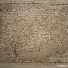 Arte: ESPLÉNDIDO MAPA DE ESPAÑA, ORIGINAL, PADUA 1621, MAGINI / PORRO / PTOLOMEO, GRAN ESTADO.. Lote 175451733