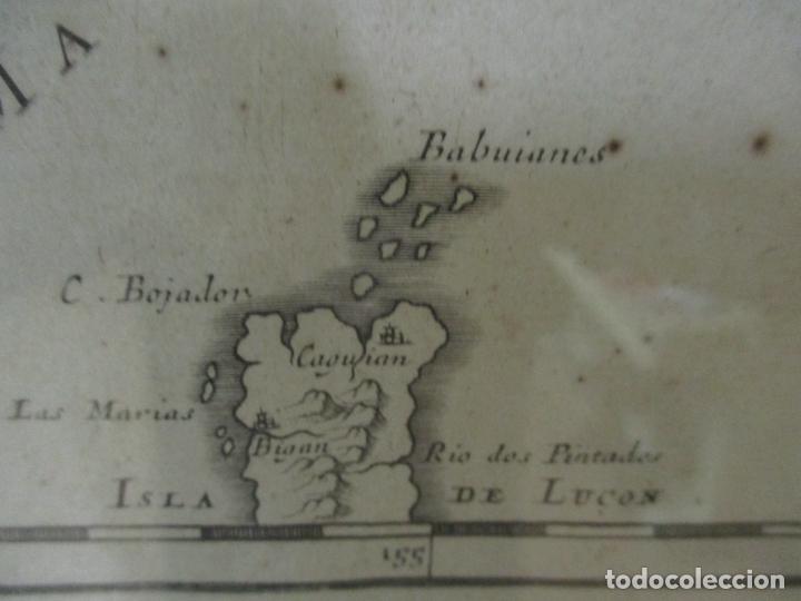 """Arte: """"La Chine royaume"""", Mapa de China y de Corea del siglo XVII. Impreso en París en 1656 Nicolas Sanson - Foto 17 - 175797640"""