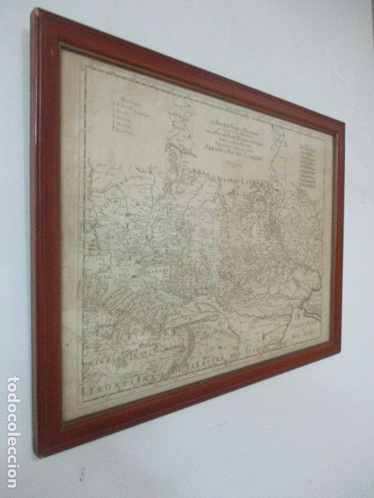 """Arte: """"La Russie Noire ou Polonaise: d'Ukraine ou Pays de Cosaques"""" - Sansons, París 1674 - Foto 2 - 175798350"""