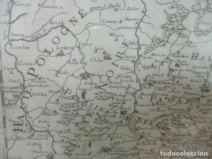 """Arte: """"La Russie Noire ou Polonaise: d'Ukraine ou Pays de Cosaques"""" - Sansons, París 1674 - Foto 8 - 175798350"""