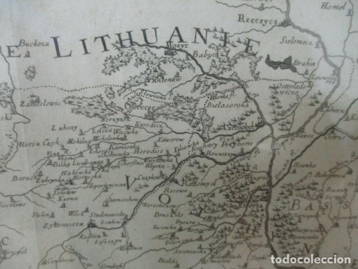 """Arte: """"La Russie Noire ou Polonaise: d'Ukraine ou Pays de Cosaques"""" - Sansons, París 1674 - Foto 10 - 175798350"""