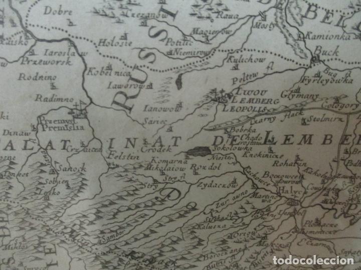 """Arte: """"La Russie Noire ou Polonaise: d'Ukraine ou Pays de Cosaques"""" - Sansons, París 1674 - Foto 14 - 175798350"""