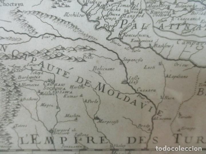 """Arte: """"La Russie Noire ou Polonaise: d'Ukraine ou Pays de Cosaques"""" - Sansons, París 1674 - Foto 16 - 175798350"""
