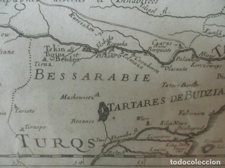 """Arte: """"La Russie Noire ou Polonaise: d'Ukraine ou Pays de Cosaques"""" - Sansons, París 1674 - Foto 17 - 175798350"""