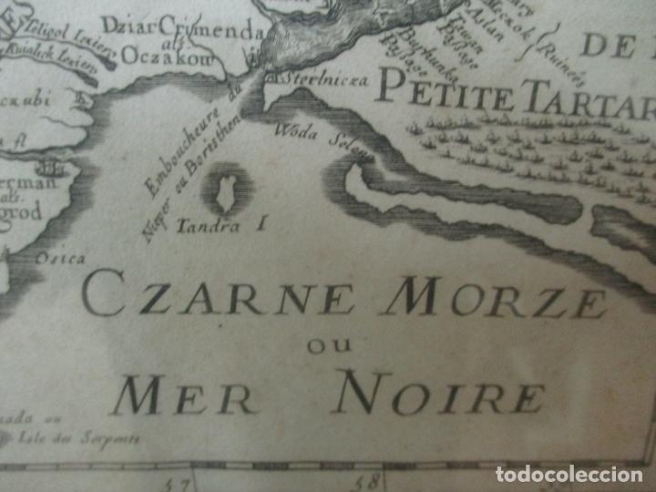 """Arte: """"La Russie Noire ou Polonaise: d'Ukraine ou Pays de Cosaques"""" - Sansons, París 1674 - Foto 18 - 175798350"""