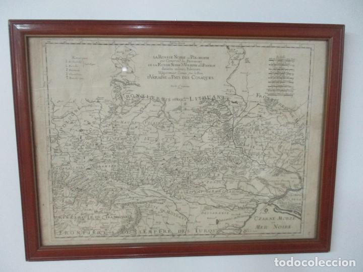 """Arte: """"La Russie Noire ou Polonaise: d'Ukraine ou Pays de Cosaques"""" - Sansons, París 1674 - Foto 25 - 175798350"""