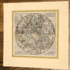 Arte: MAPA CARTA CELESTE HEMISFERIO SEPTENTRIONAL. SIGLO XVIII. Lote 176750580