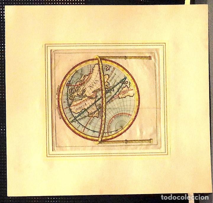 MAPA MUNDI. SIGLO XVIII (Arte - Cartografía Antigua (hasta S. XIX))