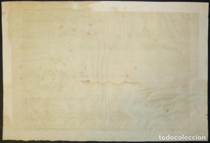 Arte: Mapa de Galicia y puertos de Vigo y A Coruña (España), 1705. Nicolás de Fer - Foto 15 - 176815883