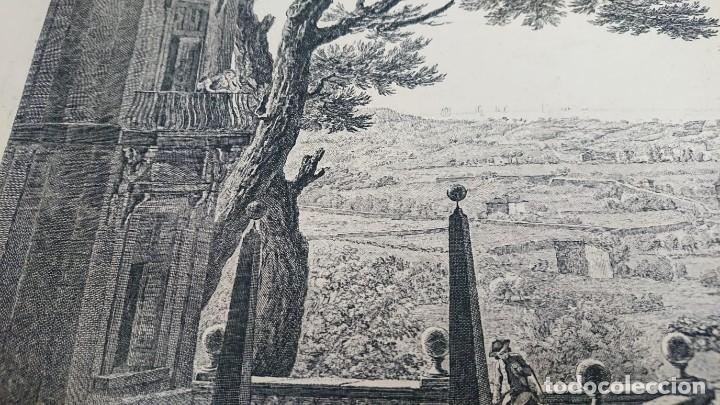 Arte: ANTIGUO GRABADO CARTOGRAFIA CIUDAD Y PUERTO DE TOULON SELLADA POR EL MUSEO LOUVRE - Foto 5 - 177117010