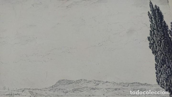 Arte: ANTIGUO GRABADO CARTOGRAFIA CIUDAD Y PUERTO DE TOULON SELLADA POR EL MUSEO LOUVRE - Foto 12 - 177117010