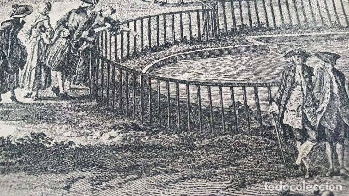 Arte: ANTIGUO GRABADO CARTOGRAFIA CIUDAD Y PUERTO DE TOULON SELLADA POR EL MUSEO LOUVRE - Foto 16 - 177117010