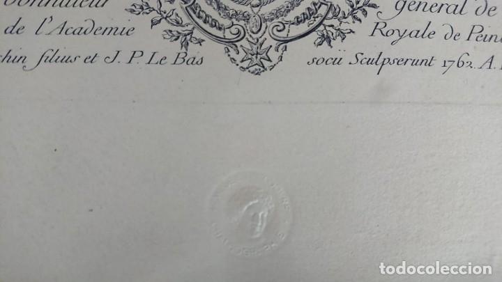 Arte: ANTIGUO GRABADO CARTOGRAFIA CIUDAD Y PUERTO DE TOULON SELLADA POR EL MUSEO LOUVRE - Foto 19 - 177117010