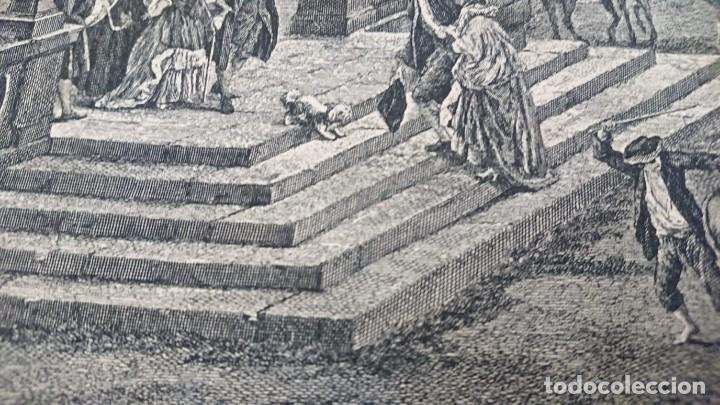 Arte: ANTIGUO GRABADO CARTOGRAFIA CIUDAD Y PUERTO DE TOULON SELLADA POR EL MUSEO LOUVRE - Foto 23 - 177117010