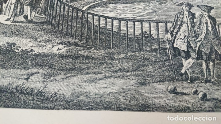 Arte: ANTIGUO GRABADO CARTOGRAFIA CIUDAD Y PUERTO DE TOULON SELLADA POR EL MUSEO LOUVRE - Foto 25 - 177117010