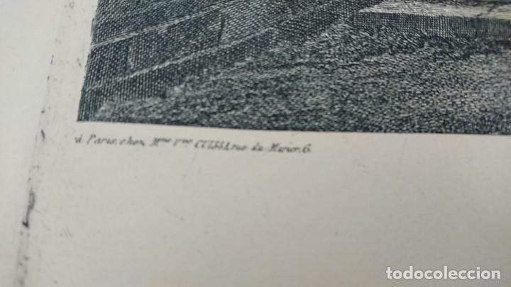 Arte: ANTIGUO GRABADO CARTOGRAFIA CIUDAD Y PUERTO DE TOULON SELLADA POR EL MUSEO LOUVRE - Foto 39 - 177117010