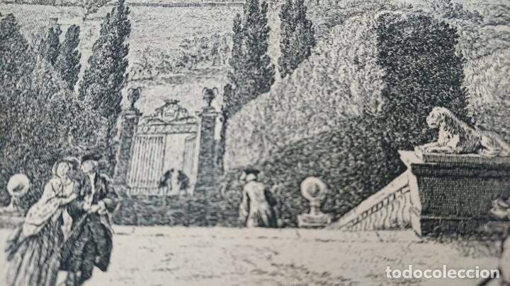 Arte: ANTIGUO GRABADO CARTOGRAFIA CIUDAD Y PUERTO DE TOULON SELLADA POR EL MUSEO LOUVRE - Foto 40 - 177117010